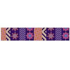 Colorful Winter Pattern Flano Scarf (Large)