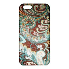 Texture Fabric Pattern Knitted Wear iPhone 6/6S TPU Case