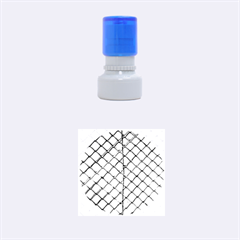 The Fence  Rubber Round Stamps (Small)