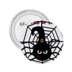 Halloween cute spider 2.25  Buttons
