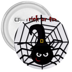 Halloween cute spider 3  Buttons