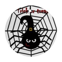 Halloween cute spider Ornament (Round)