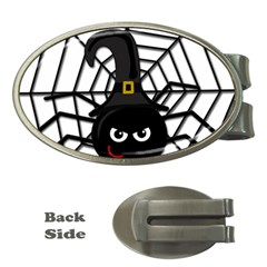Halloween cute spider Money Clips (Oval)
