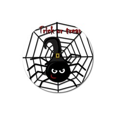 Halloween cute spider Magnet 3  (Round)
