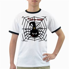 Halloween cute spider Ringer T-Shirts
