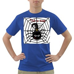 Halloween cute spider Dark T-Shirt