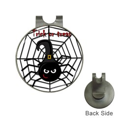 Halloween cute spider Hat Clips with Golf Markers