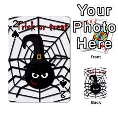 Halloween cute spider Playing Cards 54 Designs