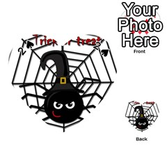 Halloween cute spider Playing Cards 54 (Heart)