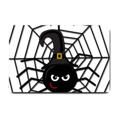 Halloween cute spider Small Doormat