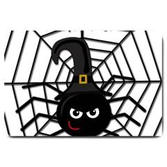 Halloween cute spider Large Doormat