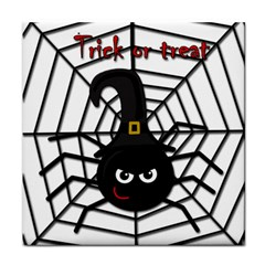Halloween cute spider Face Towel