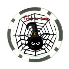 Halloween cute spider Poker Chip Card Guards (10 pack)