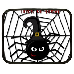 Halloween cute spider Netbook Case (XL)