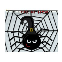 Halloween cute spider Cosmetic Bag (XL)
