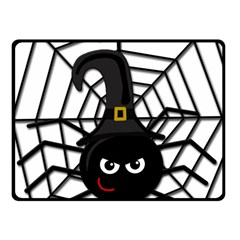 Halloween cute spider Fleece Blanket (Small)