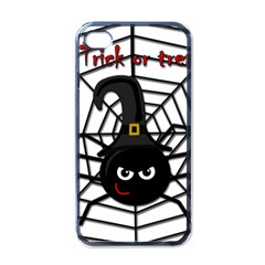 Halloween cute spider Apple iPhone 4 Case (Black)