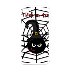 Halloween cute spider Apple iPhone 4 Case (White)