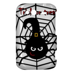 Halloween cute spider HTC Wildfire S A510e Hardshell Case