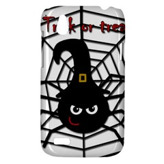 Halloween cute spider HTC Desire V (T328W) Hardshell Case