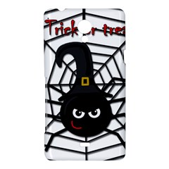 Halloween cute spider Sony Xperia T