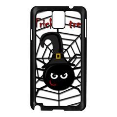 Halloween cute spider Samsung Galaxy Note 3 N9005 Case (Black)