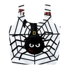 Halloween cute spider Full Print Recycle Bags (L)