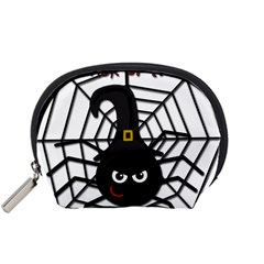 Halloween cute spider Accessory Pouches (Small)
