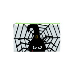 Halloween cute spider Cosmetic Bag (XS)