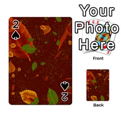 Autumn 01 Playing Cards 54 Designs