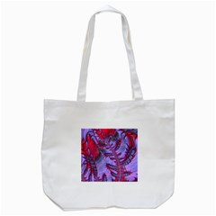 Freaky Friday Red  Lilac Tote Bag (White)
