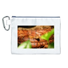 Sunkissed Corn Snake Canvas Cosmetic Bag (L)