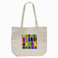 Abstract Tote Bag (Cream)
