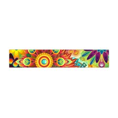 Colorful Abstract Background Flano Scarf (Mini)