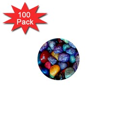Colorful Rocks Stones Background 1  Mini Magnets (100 pack)
