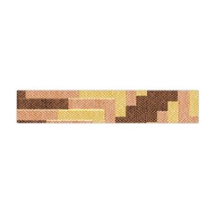 Fabric Textile Tiered Fashion Flano Scarf (Mini)