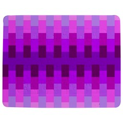 Geometric Cubes Pink Purple Blue Jigsaw Puzzle Photo Stand (Rectangular)