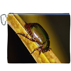 Insect  Canvas Cosmetic Bag (XXXL)