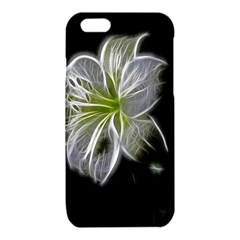 White Lily Flower Nature Beauty iPhone 6/6S TPU Case