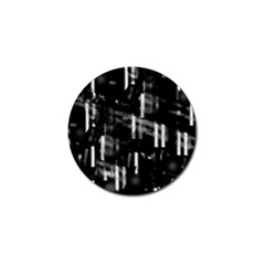 Black and white neon city Golf Ball Marker (10 pack)