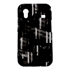 Black and white neon city Samsung Galaxy Ace S5830 Hardshell Case
