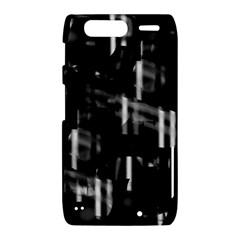 Black and white neon city Motorola Droid Razr XT912