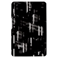 Black and white neon city Kindle Fire (1st Gen) Hardshell Case
