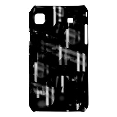 Black and white neon city Samsung Galaxy S i9008 Hardshell Case
