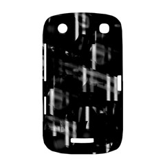 Black and white neon city BlackBerry Curve 9380