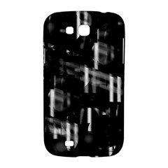 Black and white neon city Samsung Galaxy Grand GT-I9128 Hardshell Case