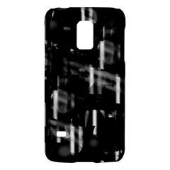 Black and white neon city Galaxy S5 Mini