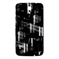 Black and white neon city Samsung Galaxy Mega I9200 Hardshell Back Case