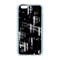 Black and white neon city Apple Seamless iPhone 6/6S Case (Color)