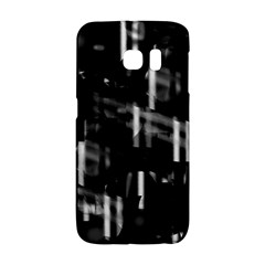 Black and white neon city Galaxy S6 Edge